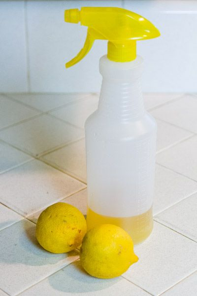 Lemon-Vinegar Cleaner for all your spring cleaning needs - Life Currents