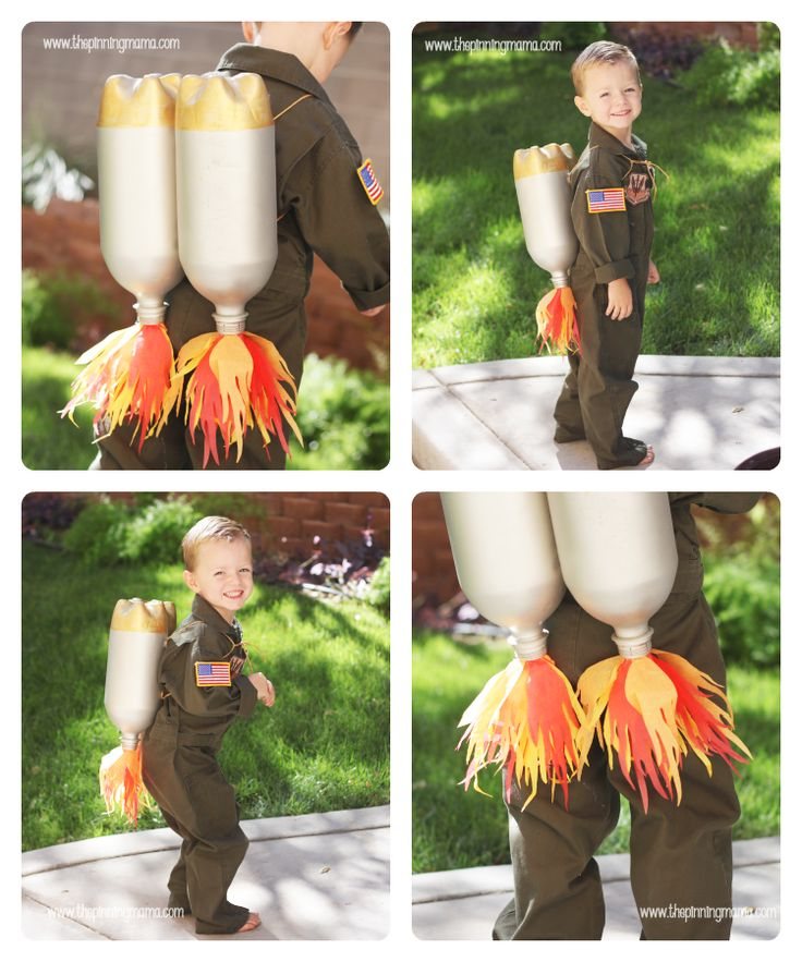 Adorable!! --> DIY Jet Pack Inspired by Pottery Barn Kids | The Pinning Mama