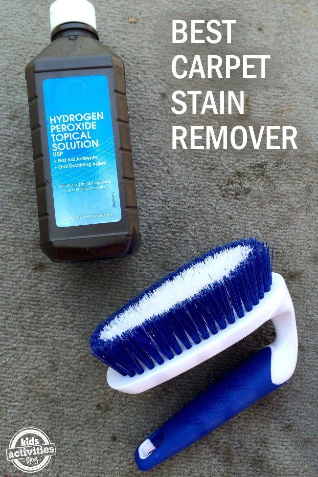 DIY carpet stain remover
