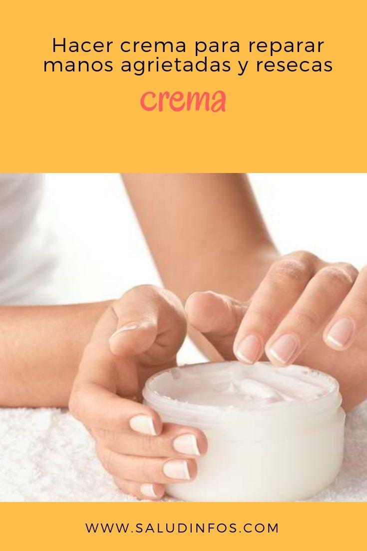 Crema Para Manos Resecas Y Agrietadas