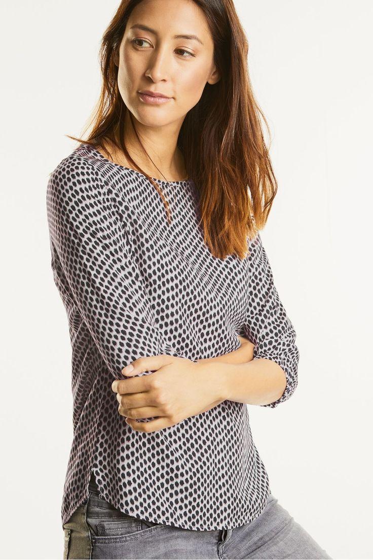losvallende blousetop