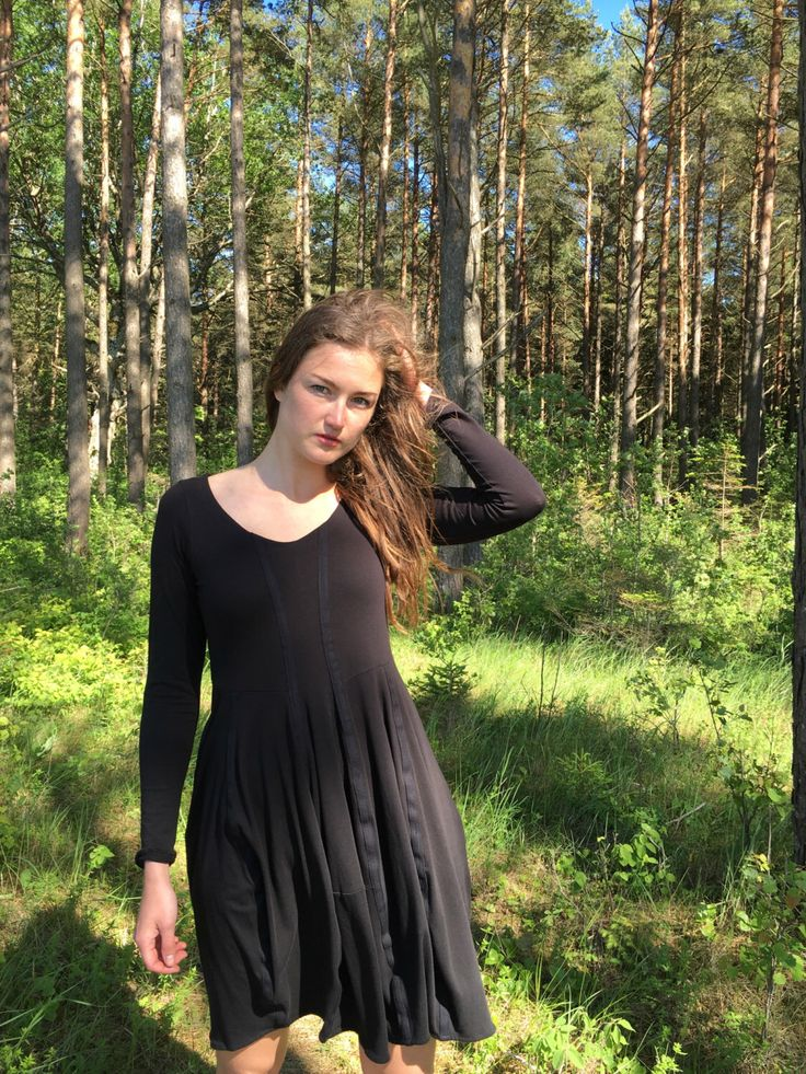 A personal favourite from my Etsy shop https://www.etsy.com/listing/400200465/black-dress-black-dress-with-cotton