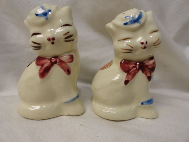 Vintage Shawnee Smiling Cat Salt Amp Pepper Shakers W Org
