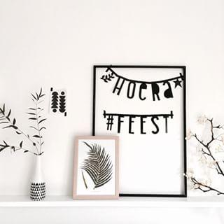 #Wordbanner #tip: Hoera Feest - Buy it at www.vanmariel.nl - € 11,95