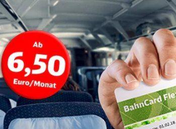 """Wieder da: BahnCard Flex mit monatlicher Kündigung ab 6,50 Euro https://www.discountfan.de/artikel/reisen_und_bildung/wieder-da-bahncard-flex-mit-monatlicher-kuendigung-ab-650-euro.php Wer gerne günstig Bahn fährt, aber sich nicht lange binden will, sollte sich diese Offerte näher ansehen: Ab sofort ist wieder die monatlich kündbare """"BahnCard Flex"""" zu Preisen ab 6,50 Euro verfügbar – ab einem Ticketpreis von 78 Euro spart man so bares Geld. Wieder da"""
