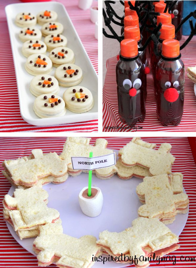 Polar Express Birthday Party - great game and food ideas!