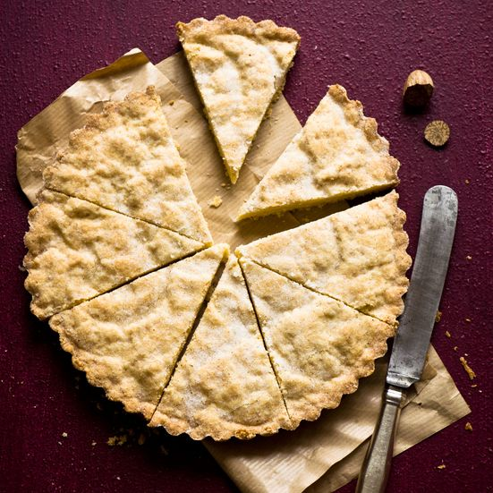 Nutmeg makes a scintillating addition to rich, buttery shortbread. Though these cookies bake for about fifty minutes, the actual work time is amazingl...