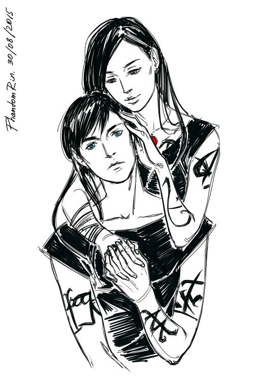 Alec & Isabelle Lightwood the way the siblings care about each other is so adorable!)