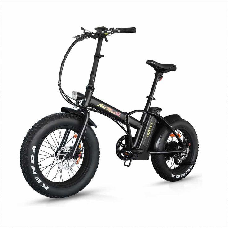 Addmotor Motan Electric Fat Tire Bikes 500w 48v Snow Folding Bicycles