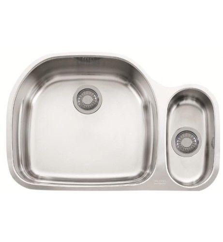 Franke Pcx16009 Prestige 31 1 8 Stainless Steel Double Basin Undermount Kitchen Sink Sink Franke Sink