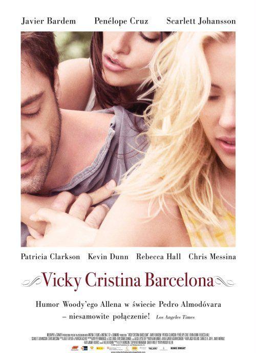 Vicky Cristina Barcelona, 2008 plakat