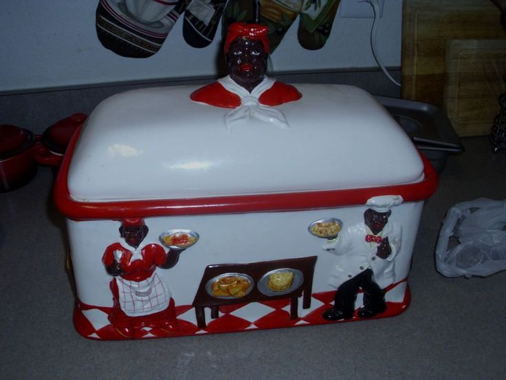 1000 images about ceramic bread boxes on