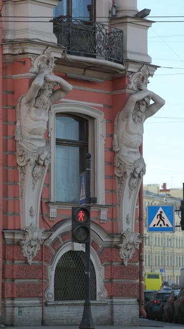 Атланты и кариатиды Санкт-Петербурга :: Геокэшинг ::