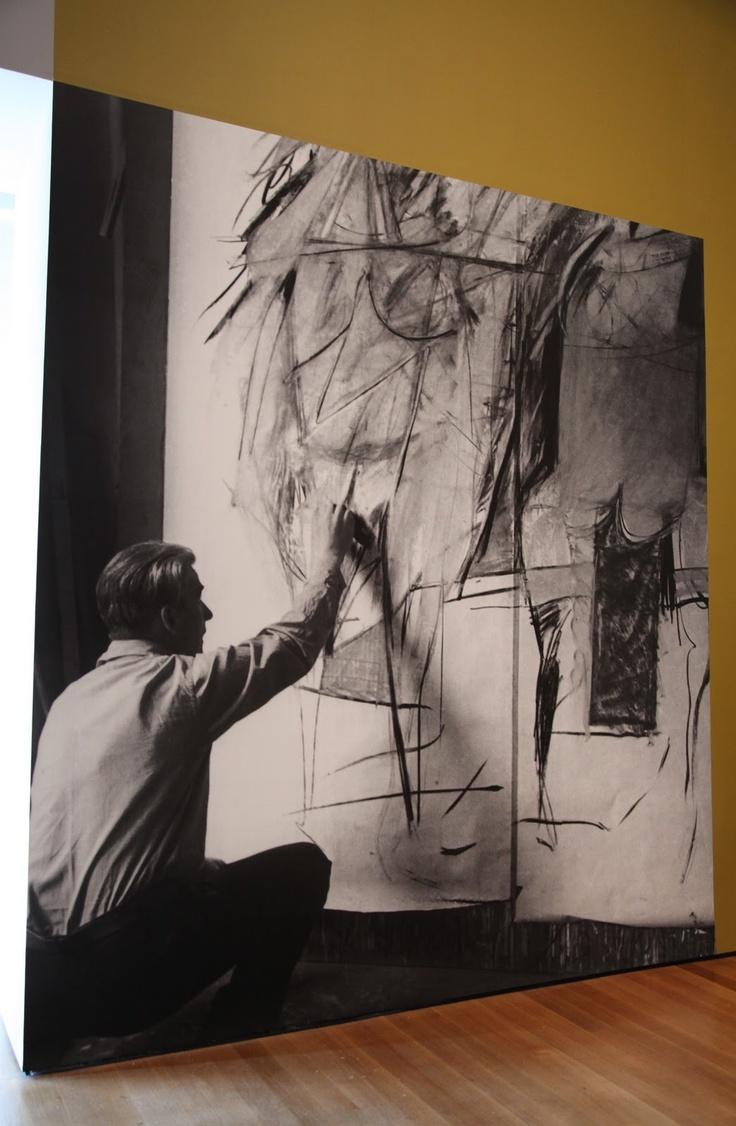 de Kooning at work
