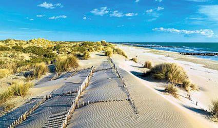 Espiguette beach, the best beach near Montpellier France