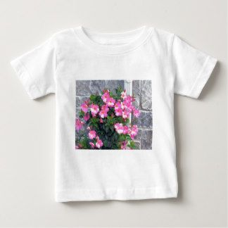 PURE PINK FLOWERS SHOW TEMPLATE UTILE TEE SHIRT
