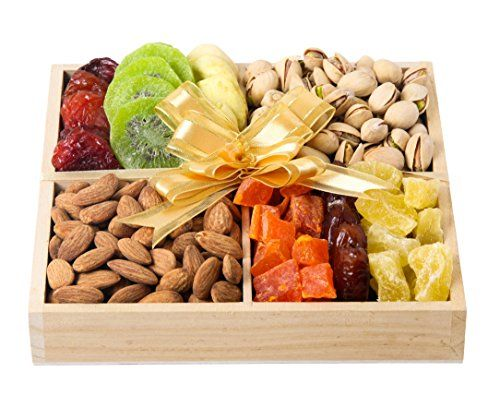 Brook Prime Mouthwatering Dried Fruits and Nuts Gift Tray, KOSHER