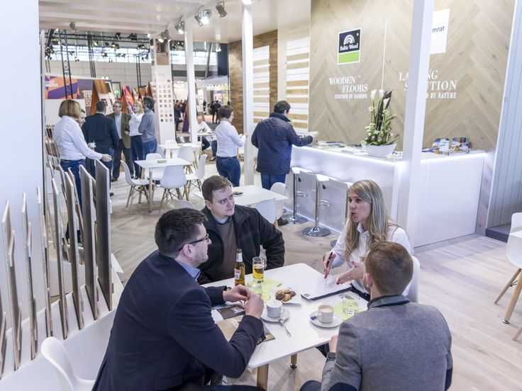 Baltic Wood's stand at DOMOTEX 2017