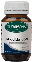 Natural for Anxiety | Mood Manager Capsules | Thompsons Mood-Manager-Capsules