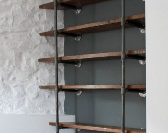 Pipefitting Desk Reclaimed Scaffolding Boards And St Eel