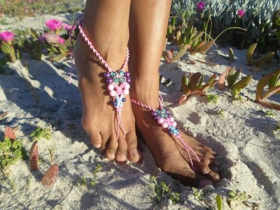 Barefoot sandal for beach accessories