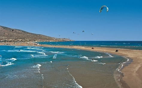 Rhodes beaches: Prasonisi, where the 2 seas meet! Experiencing the marvels of the authentic Greek summer