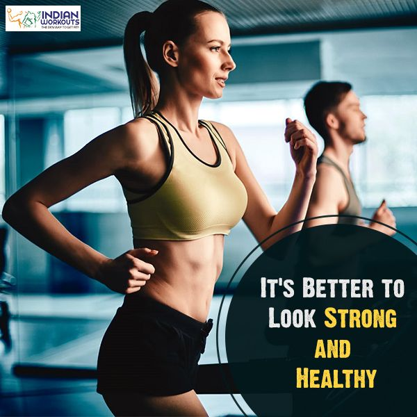 Strong and healthy should always go together! #Motivation #IndianWorkouts