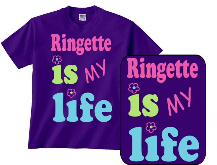 ringette is my life t-shirt would be awesome!