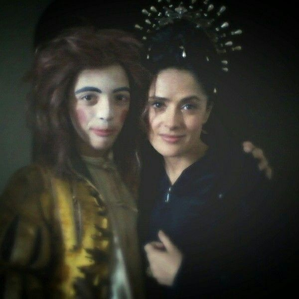 I and Salma Hayek
