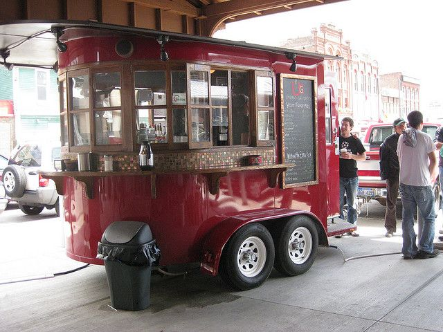 Urban Grounds coffee cart, Eastern Market