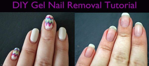 how to get stains off gel nails