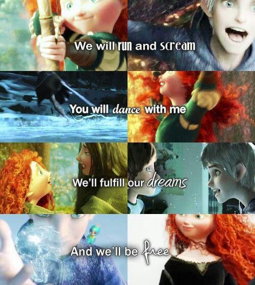 Vamos correr e gritar Você vai dançar comigo Vamos realizar nossos sonhos E seremos livres
