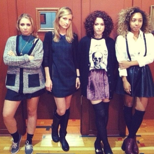 135 best nineties dress up images on pinterest 90s fashion the the girls from the craft 18 fantastic halloween costume ideas for 90s girls sciox Image collections