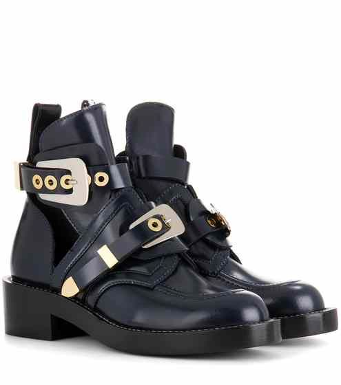 Ceinture leather derby boots | Balenciaga