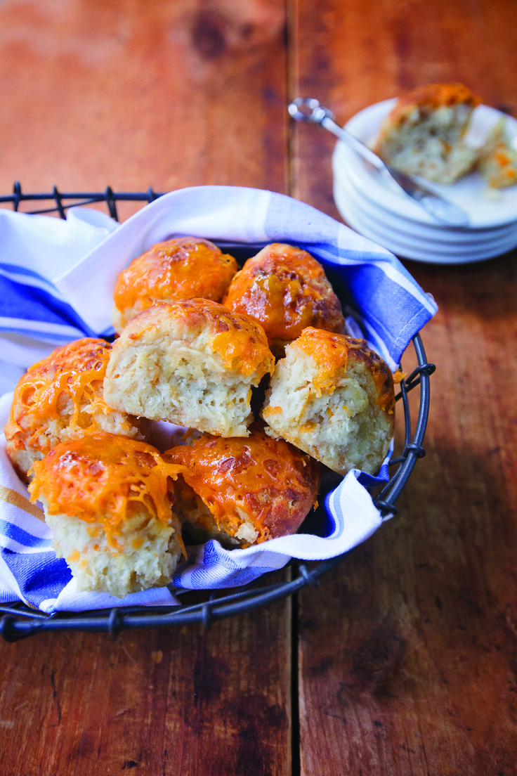 Print Cheddar Cheese Biscuits Author: The Blue Jean Chef, Meredith Laurence Serves: 8   Recipe from, Air Fry Everything! by Meredith Laurence Ingredients 2-1/3 cups self-rising flour 2 tablespoons sugar ½ cup butter (1 stick), frozen for 15 minutes ½ cup grated Cheddar cheese, plus more to melt on top 1-1/3 cups buttermilk 1 cup all-purpose flour, …