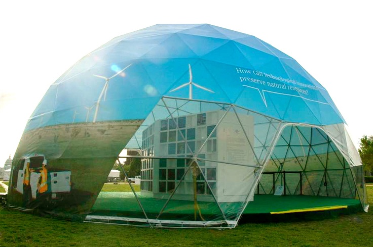 Portable Dome Structures : Best images about geodesic dome on pinterest