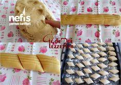 4 Malzemeli Pastane Un Kurabiyesi