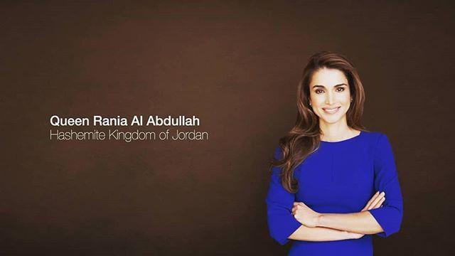 Happy Birthday Queen Rania Queenrania Raniaabdullah Mohdnourshahen Jordan Queen Rania Long Sleeve Tshirt Men Long Sleeve Tshirt