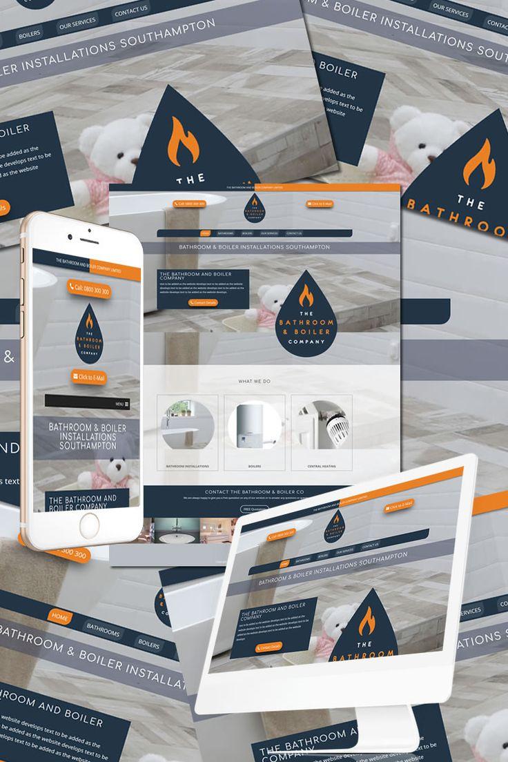 The New Website Design for the Bathroom & Boiler Co. Southampton https://hostcat.co.uk/project/bathroom-boiler-co/