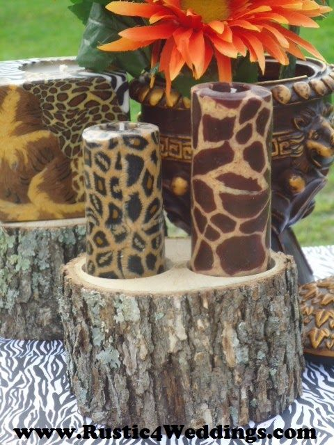 Safari Centerpiece Ideas For Buffets Or Weddings Www
