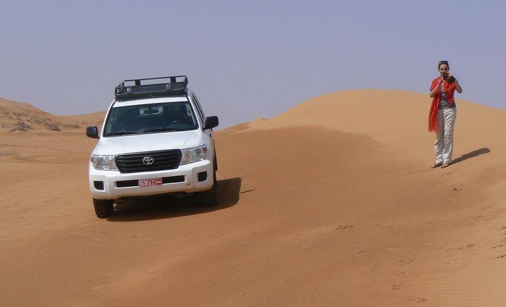 Michela dall'#Oman: il mare di sabbia di Wahiba Sands