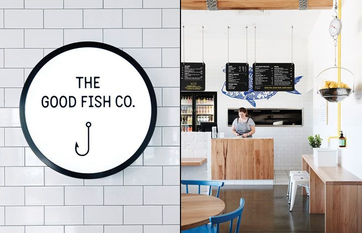 This Fish and Chip Shop Boasts a Pristine Visual Branding Identity #branding trendhunter.com