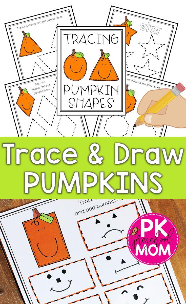 Pumpkin Shape Tracing Shape Activities Preschool Halloween Preschool Shapes Preschool [ 1200 x 735 Pixel ]