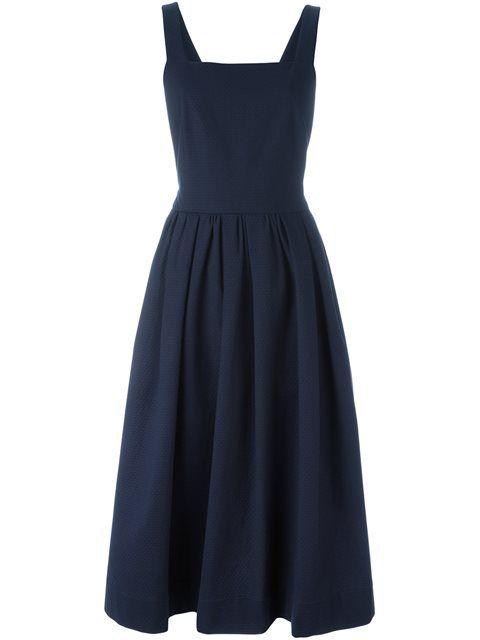 JIL SANDER Pinafore Dress. #jilsander #cloth #dress