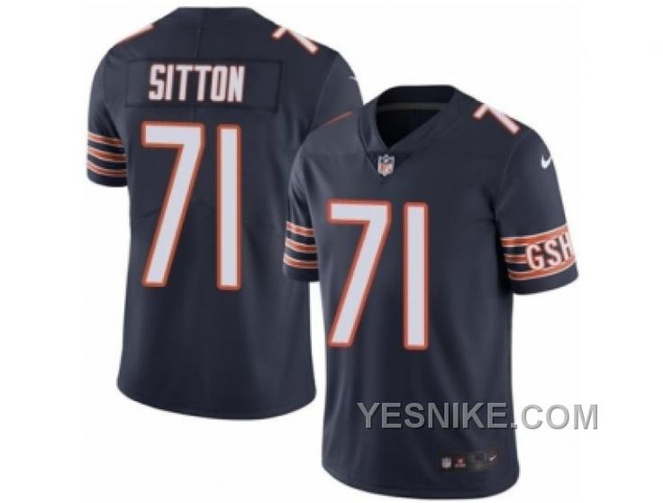 http://www.yesnike.com/big-discount-66-off-mens-nike-chicago-bears-71-josh-sitton-elite-navy-blue-rush-nfl-jersey.html BIG DISCOUNT ! 66% OFF ! MEN'S NIKE CHICAGO BEARS #71 JOSH SITTON ELITE NAVY BLUE RUSH NFL JERSEY Only $26.00 , Free Shipping!