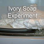 Ivory Soap Experiment  gonna make some of this as christmas gifts for the grandkids