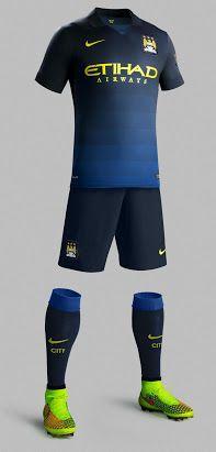 New Manchester City 14-15 Kits - Footy Headlines