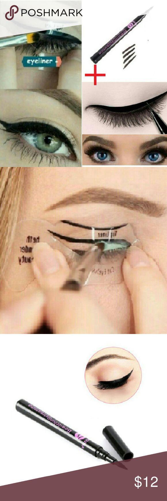 Best 25+ Eyeliner stencil ideas only on Pinterest   Cat eye ...