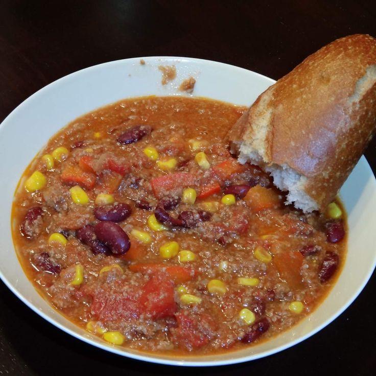 Rezept Vegetarische Variation von bestes Chili con Carne á la Schuhbeck und FixMitThermomix von ptueckma - Rezept der Kategorie sonstige Hauptgerichte