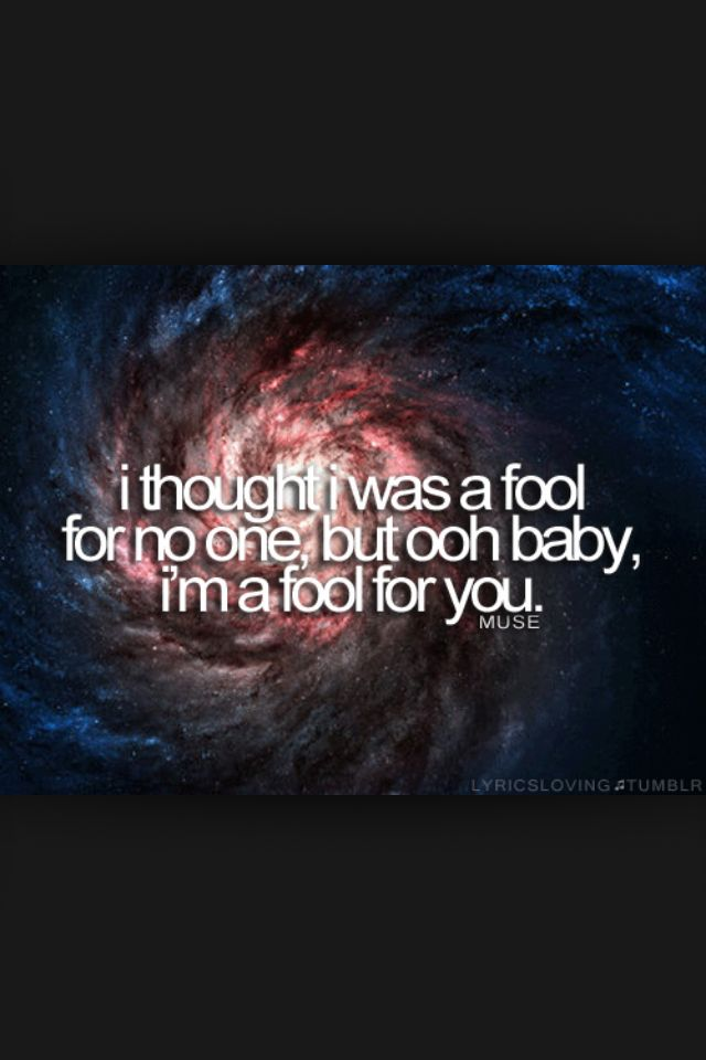 Muse lyrics - Supermassive Black Hole